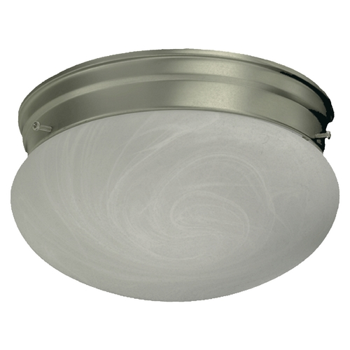Quorum Lighting Quorum Lighting Satin Nickel Flushmount Light 3021-6-65