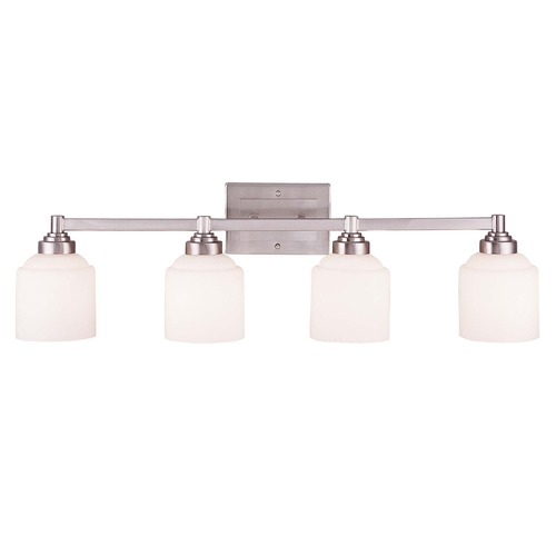 Savoy House Savoy House Pewter Bathroom Light 8-4658-4-69