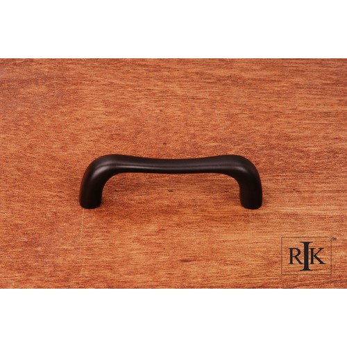 RK International Contemporary Bent Middle Pull CP09RB