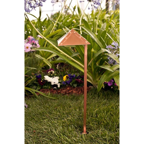Dabmar Lighting Copper Brass Path/Walkway/Area Light LV45-CP