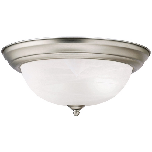 Kichler Lighting Kichler Flushmount Light in Brushed Nickel Finish 8109NI