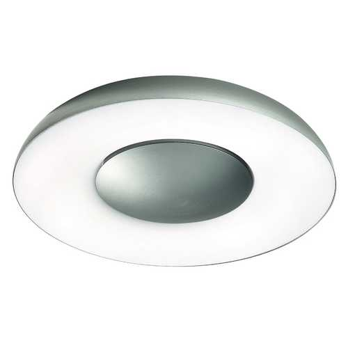 Philips Lighting Modern Wall Lamp with Clear Glass in Aluminum Finish 346134848