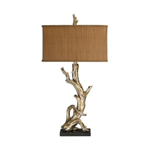 Dimond Lighting Table Lamp with Brown Shade 91-840