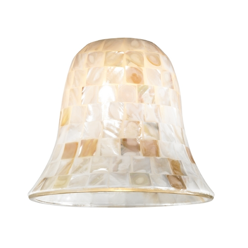 Design Classics Lighting Mosaic Glass Shade - Lipless with 1-5/8-Inch Fitter Opening GL9222-M