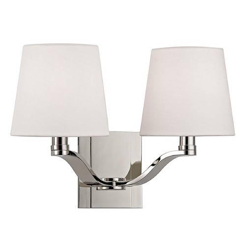 Hudson Valley Lighting Hudson Valley Lighting Clayton Polished Nickel Sconce 2462-PN