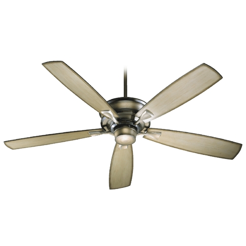 Quorum Lighting Quorum Lighting Alton Antique Flemish Ceiling Fan Without Light 42605-22