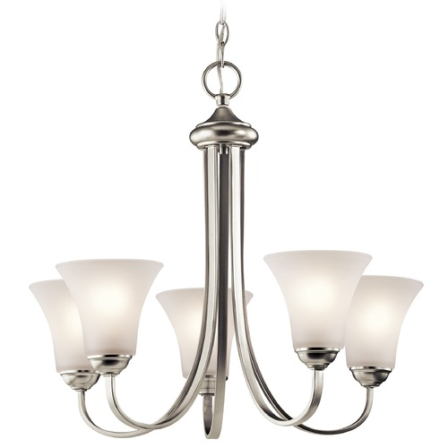 Kichler Lighting Kichler Lighting Keiran Brushed Nickel Chandelier 43503NI