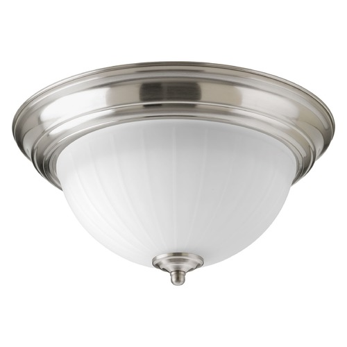Progress Lighting Progress Lighting LED Flush Mount Brushed Nickel LED Flushmount Light P2304-0930K9