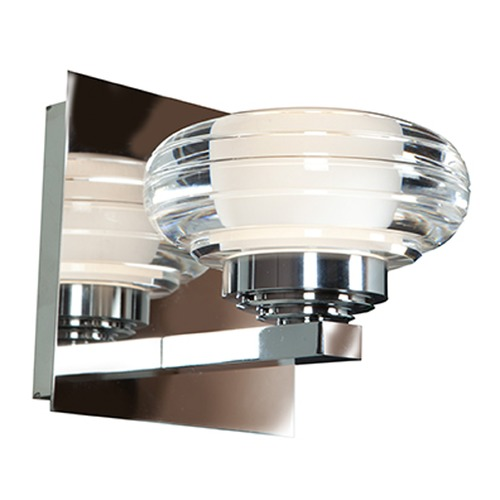 Access Lighting Access Lighting Optix Chrome LED Sconce 63971LEDD-CH/ACR