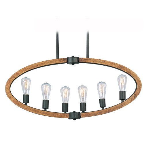 Maxim Lighting Maxim Lighting Bodega Bay Anthracite Island Light 20913APAR