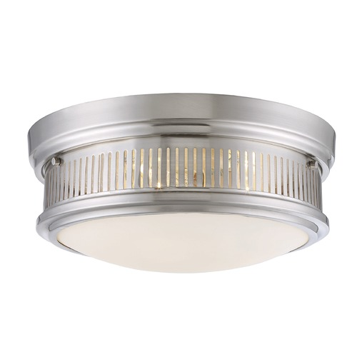 Savoy House Savoy House Lighting Sanford Satin Nickel Flushmount Light 6-3360-15-SN
