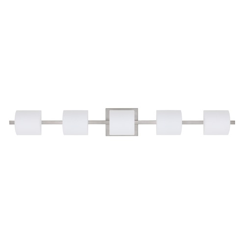 Besa Lighting Besa Lighting Paolo Satin Nickel LED Bathroom Light 5WS-787307-LED-SN