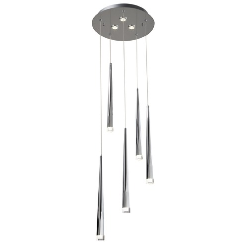 Elan Lighting Elan Lighting Antonia Chrome LED Multi-Light Pendant 83324