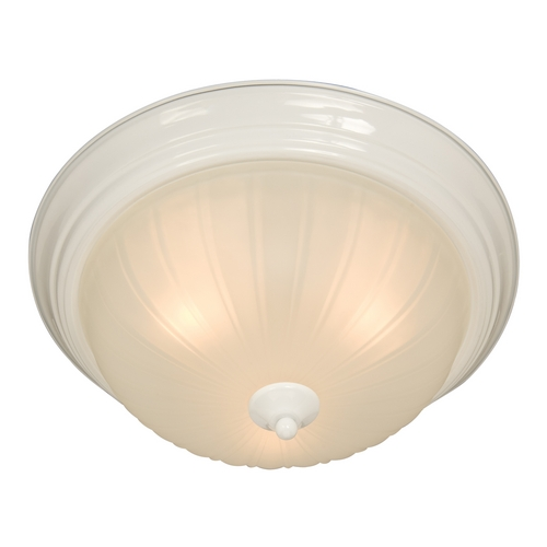 Maxim Lighting Maxim Lighting Essentials White Flushmount Light 5831FTWT