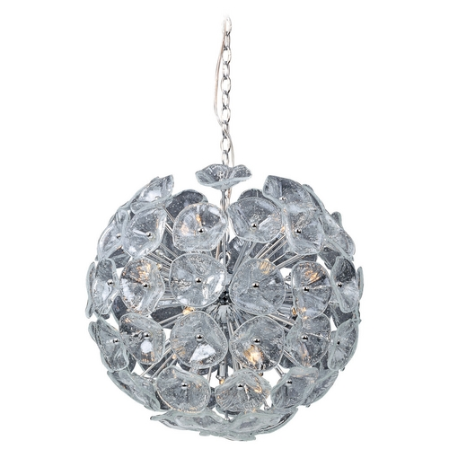 ET2 Lighting Modern Pendant Light in Polished Chrome Finish E22094-28