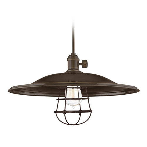 Hudson Valley Lighting Pendant Light in Old Bronze Finish 8001-OB-ML2-WG