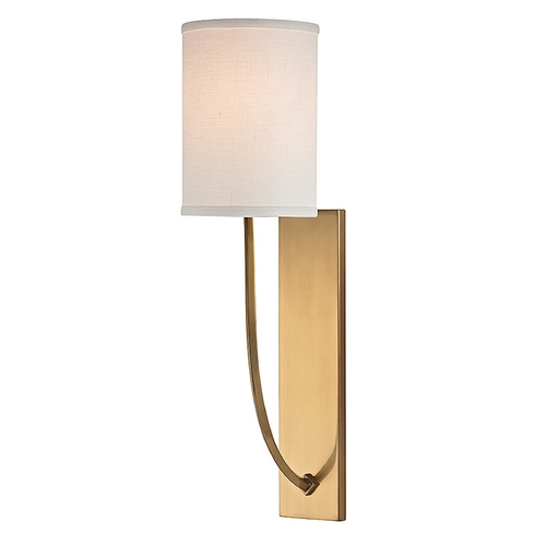 Hudson Valley Lighting Hudson Valley Lighting Colton Aged Brass Sconce 731-AGB