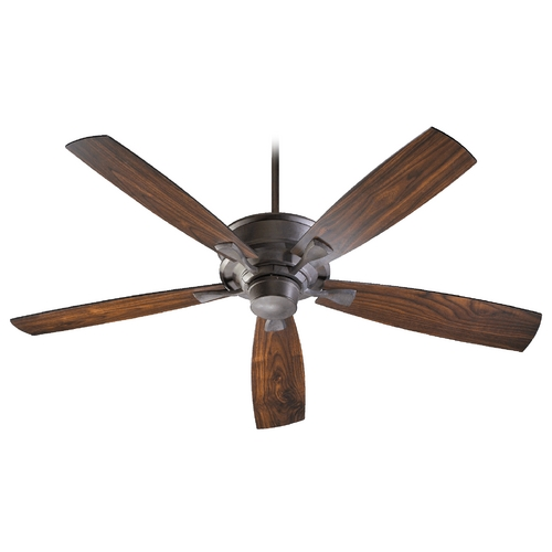 Quorum Lighting Quorum Lighting Alton Toasted Sienna Ceiling Fan Without Light 42605-44