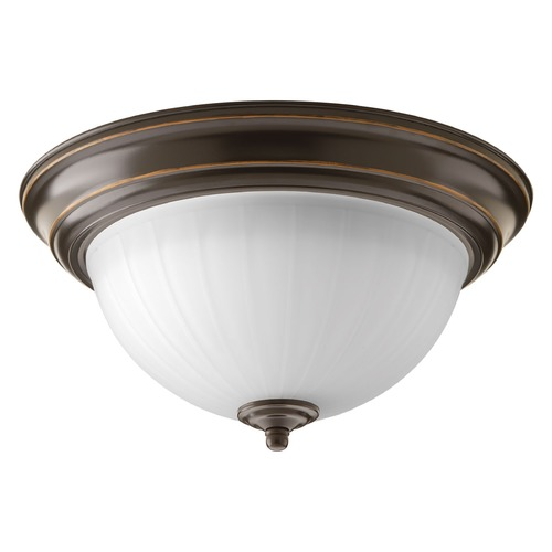 Progress Lighting Progress Lighting LED Flush Mount Antique Bronze LED Flushmount Light P2304-2030K9