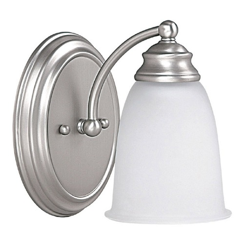 Capital Lighting Capital Lighting Matte Nickel Sconce 1081MN-132