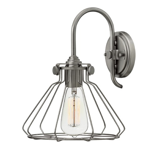 Hinkley Lighting Hinkley Lighting Congress Antique Nickel Semi-Flushmount Light 3113AN