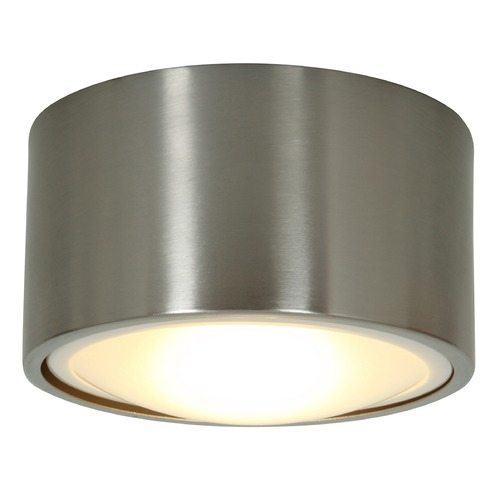 Access Lighting Access Lighting Ares Brushed Steel LED Flushmount Light 20742LEDD-BS