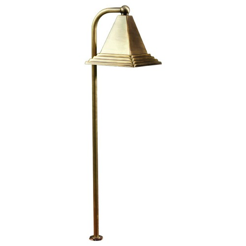 Dabmar Lighting Antique Bronze Brass Path/Walkway/Area Light LV46-ABZ