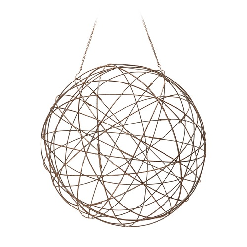 Dimond Home Aged Iron Wire Sphere - Large. 594046