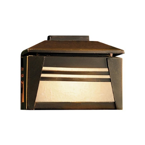 Kichler Lighting Kichler Deck Light with White Glass in Olde Bronze Finish 15110OZ