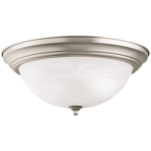 Kichler Lighting Kichler Flushmount Light in Brushed Nickel Finish 8110NI