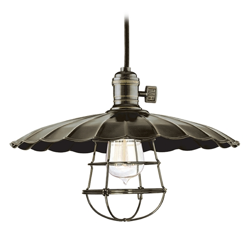 Hudson Valley Lighting Pendant Light in Old Bronze Finish 8001-OB-ML3-WG