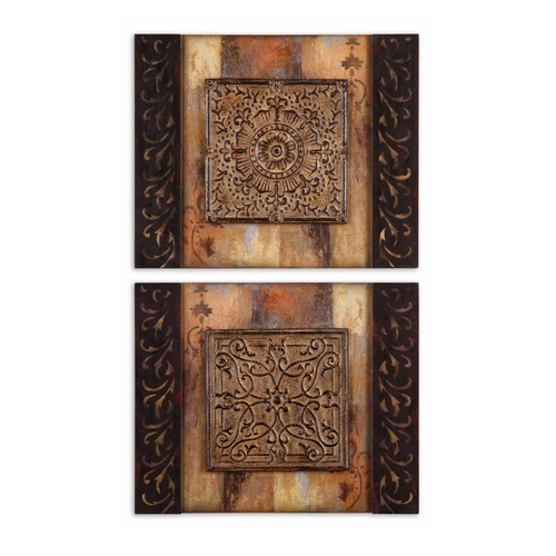Uttermost Lighting Wall Art in Multi-Color Finish 51054