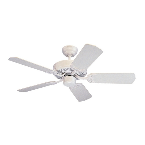 Monte Carlo Fans Ceiling Fan Without Light in White Finish 5HS42WH