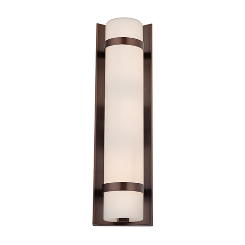 Design Classics Lighting Duo Neuvelle Bronze Bathroom Light - Vertical Mounting Only 118-220