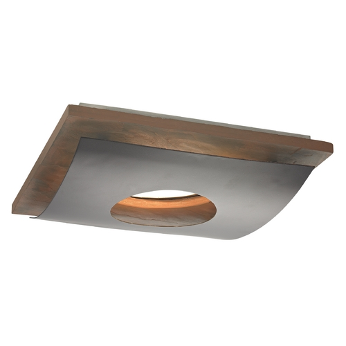 Recesso Lighting by Dolan Designs Natural Slate Decorative Square Ceiling Trim for Recessed Lights 10914-34