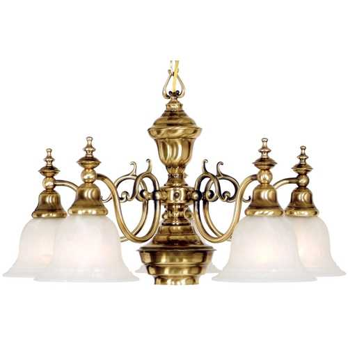 Dolan Designs Lighting Five-Light Chandelier 660-18