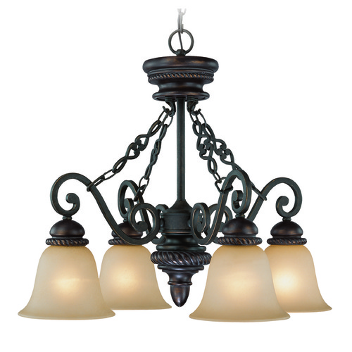 Jeremiah Lighting Jeremiah Highland Place Mocha Bronze Chandelier 25224-MB