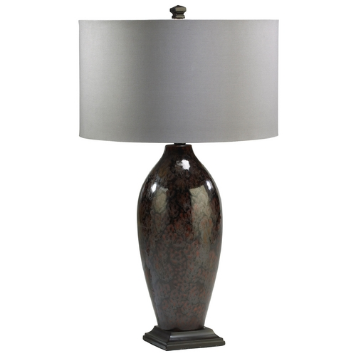 Cyan Design Cyan Design Sawyer Brown Table Lamp with Drum Shade 01722