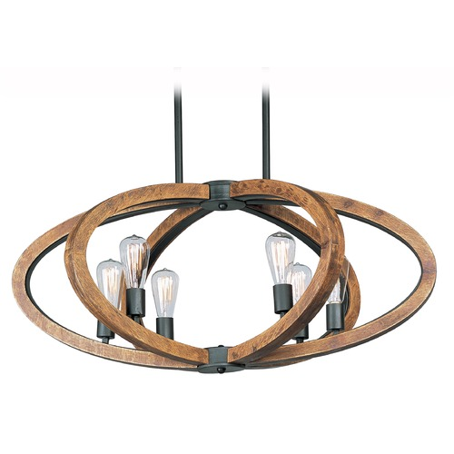 Maxim Lighting Maxim Lighting Bodega Bay Anthracite Pendant Light 20915APAR