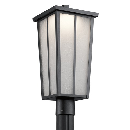 Kichler Lighting Kichler Lighting Amber Valley Textured Black LED Post Light 49625BKTLED