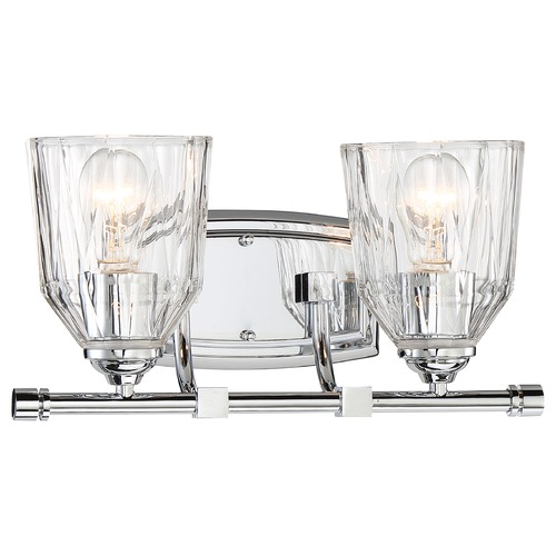 Minka Lavery Minka D'or Chrome Bathroom Light 3382-77