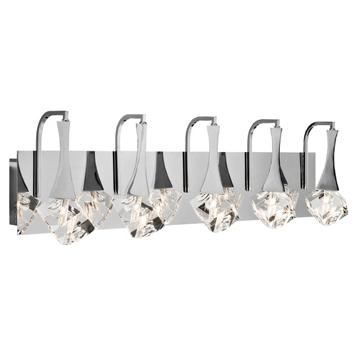 Elan Lighting Elan Lighting Rockne Chrome LED Bathroom Light 83777