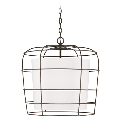 Capital Lighting Capital Lighting Independent 4-Light Farm House Pendant Light 338347FH