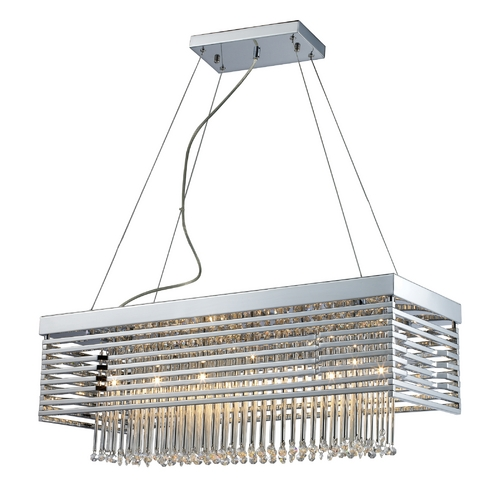 Elk Lighting Modern Low Voltage Pendant Light in Polished Chrome Finish 30020/12