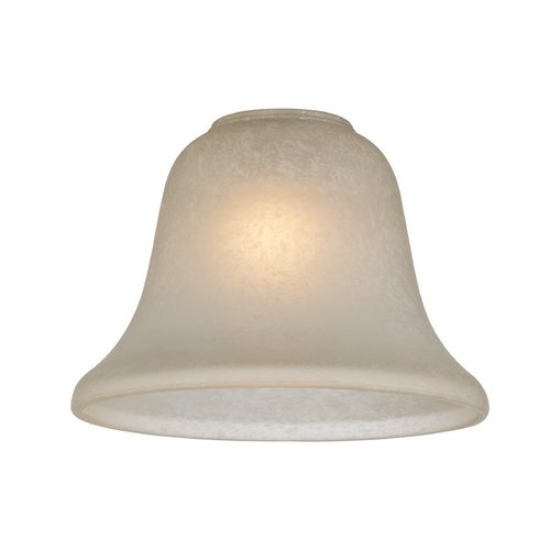 Design Classics Lighting Caramelized Traditional Bell Glass Shade - 1-5/8-Inch Fitter GL1032-CAR