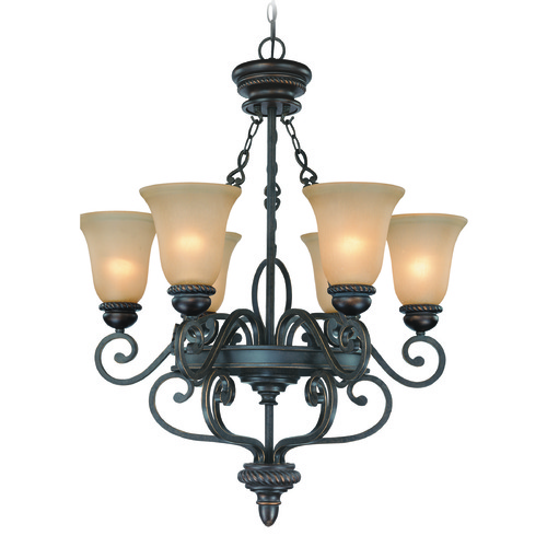 Craftmade Lighting Craftmade Highland Place Mocha Bronze Chandelier 25226-MB