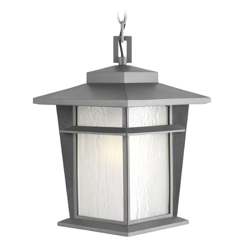 Progress Lighting Progress Lighting Loyal Textured Graphite Outdoor Hanging Light P6521-136WB