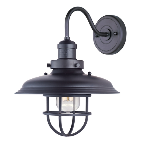 Maxim Lighting Maxim Lighting Mini Hi-Bay Bronze Sconce 25091BZ