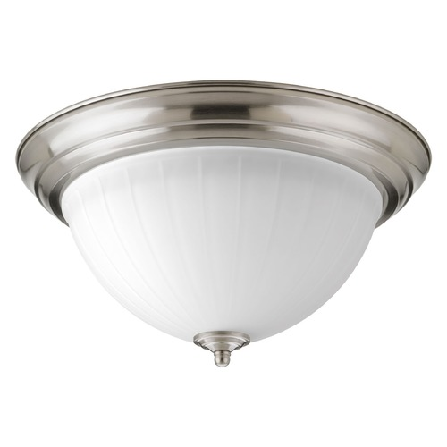 Progress Lighting Progress Lighting LED Flush Mount Brushed Nickel LED Flushmount Light P2305-0930K9