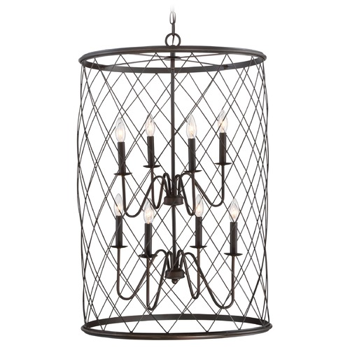 Quoizel Lighting Quoizel Dury Palladian Bronze Pendant Light RDY5208PN